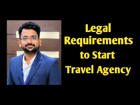 Legal requirements to start a travel agency | travel start up