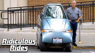 Tiny Electric Car Cost $420,000 To Build | Ridiculous Rides