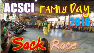 Sack Race - Family Day 2018 Angeles City Science Highschool (ACSCI)