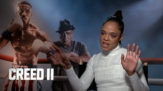 Tessa Thompson on Creating a Strong Female Character for 'Creed II'