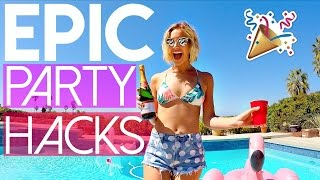 5 Party Life Hacks You Need To Try!