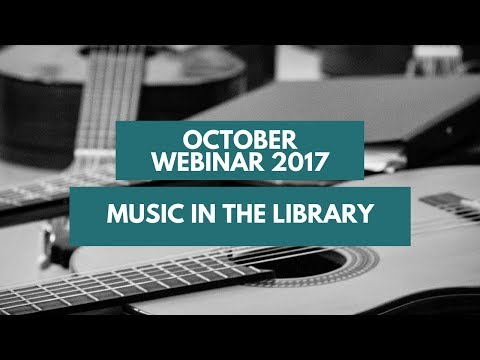 October webinar with Jarkko from Tampere Library in Finland!