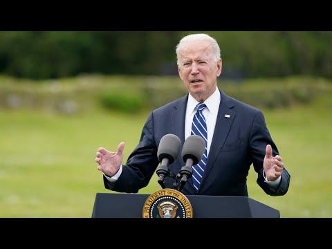 U.S. will be the world's 'arsenal' in COVID-19 fight: Biden | G7 summit in U.K.