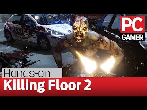 Killing Floor 2 full match gameplay - Tripwire + PC Gamer @ 60fps