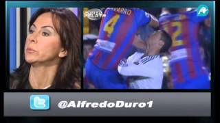 Mascaró insulta al Real Madrid.