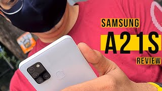 Samsung Galaxy A21s Review | Camera & Performance !