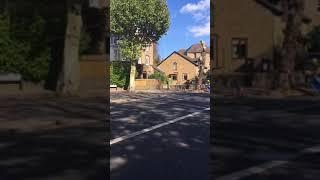 Cyclist near death experience.