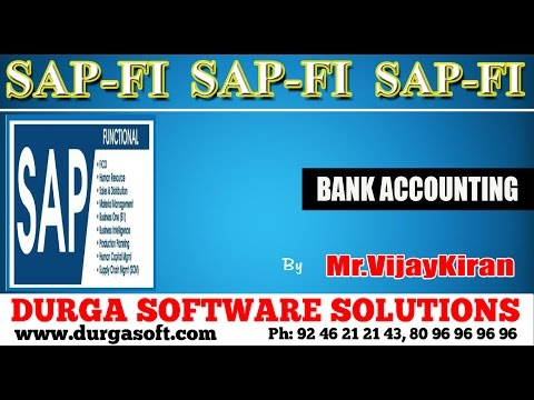 SAP || SAP-FI - Bank Accounting