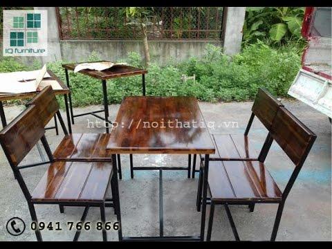 Sản xuất nội thất bàn ghế nhà hàng cafe đẹp tại Hải Phòng.