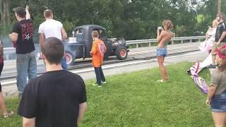 Burnouts Leaving Car Show 2018
