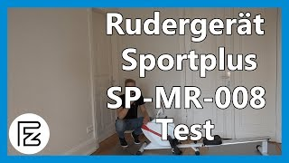 Rudergerät SPORTPLUS SP-MR-008 im TEST