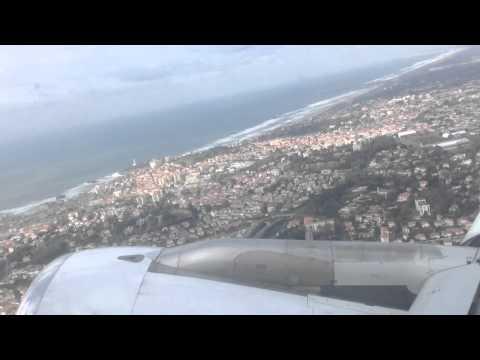 AF7487 : décollage de Biarritz