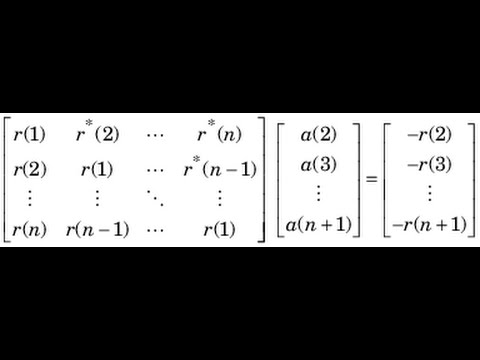 DSP Lecture 20: The Wiener filter