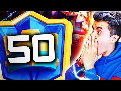 ¡¡LADDER TOP 50 MUNDIAL!! 🔥🎄 +6100 COPAS   COPYRIGHT OP CLASH ROYALE YoSoyRick