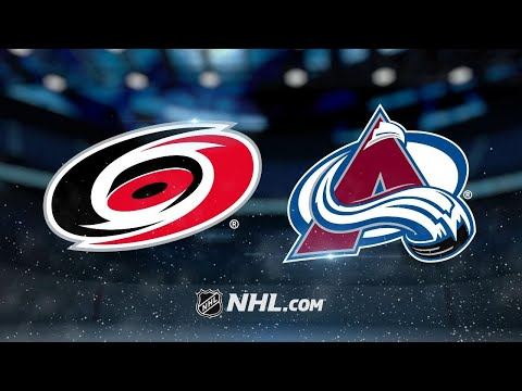 Varlamov, offense leads Avs past Hurricanes, 5-3