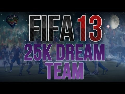 FIFA 13 - 25k Dream Team ft. Brazilian Squad Episode 002