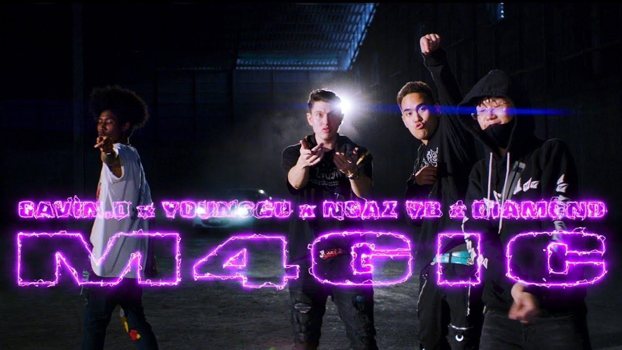 GAVIN.D - M4GIC Ft. YOUNGGU, NGAZ YB & DIAMOND MQT (Official MV)