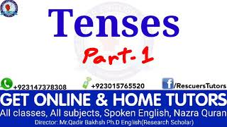 Tenses are easy. Part-1