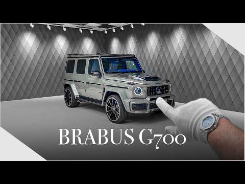 BRABUS BEAST in PERFECT Colour Combination ! The G700 - Detailed Walkaround | Luxury Cars Hamburg