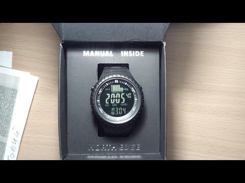 Крутые рыбацкие часы с барометром с Алиэкспресс. Распаковка посылок Алиэкспресс 2017.