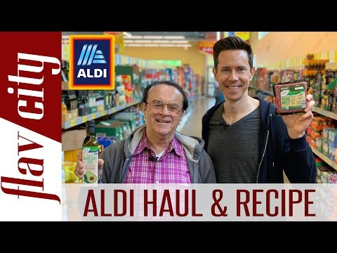 aldi-grocery-haul-for-father's-day-&-epic-low-carb-smash-burger-recipe