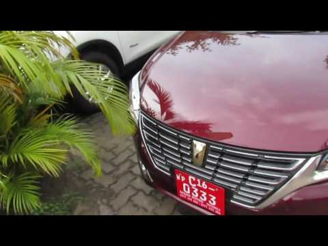 2016 Toyota Premio Startup And Review