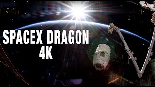 Фото Spacex Dragon 4k  Dragon At The Iss 4k Video