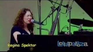Regina Spektor - Us (Lollapalooza 2007)