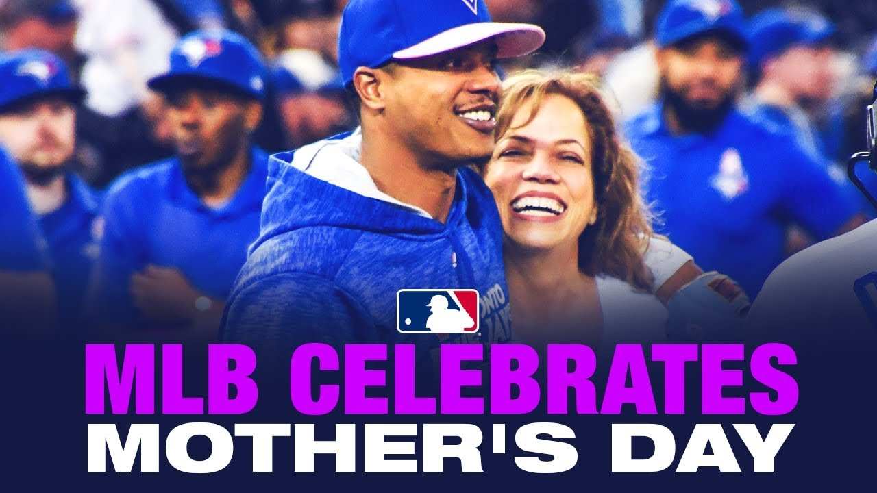 bf574e9b82f MLB Celebrates 2019 Mother s Day - YouTube