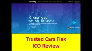 "Trusted Cars Flex ICO Review ""Great Crypto Token"" Bounty available"