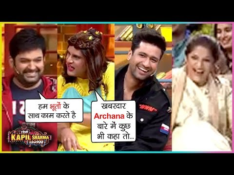 Krushna Abhishek FUNNY Comedy With Kapil, Vicky Kaushal, Archana | The Kapil Sharma Show BHOOT