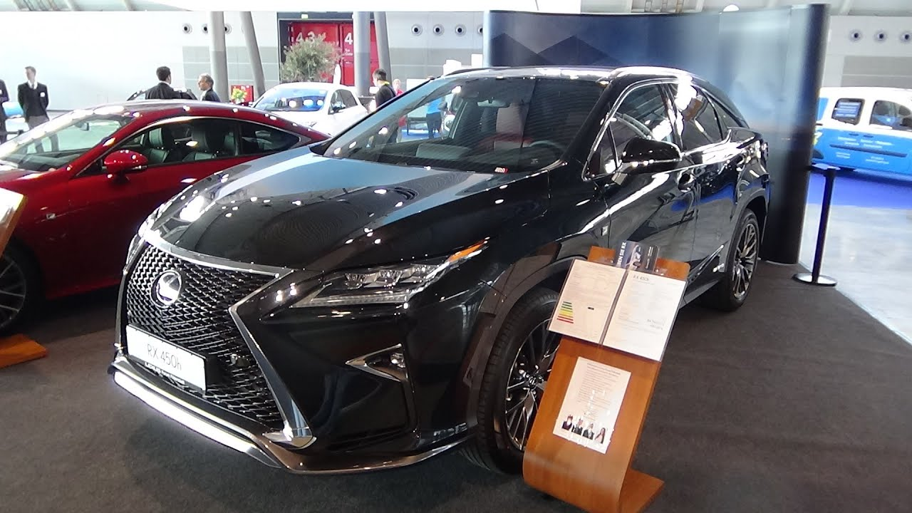2017 Lexus Rx F Sport Red Interior