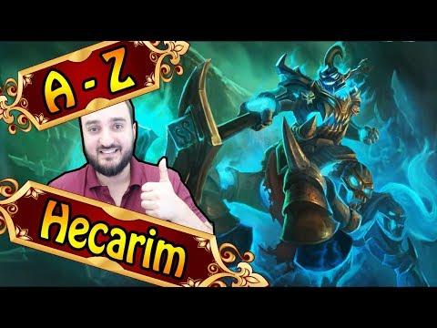 A-Z HECARIM JUNGLE, gefeedet mit 1 Shot Potenzial | League of Legends