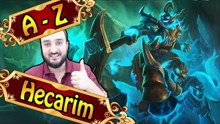 A-Z HECARIM JUNGLE, gefeedet mit 1 Shot Potenzial | League of Legends