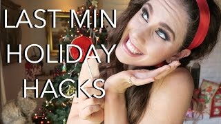 Last Minute Holiday Hacks You NEED TO KNOW! |...