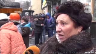Янукович толкает народ к войне 21 01 14