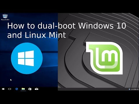 How to DualBoot Windows 10 and Linux Mint