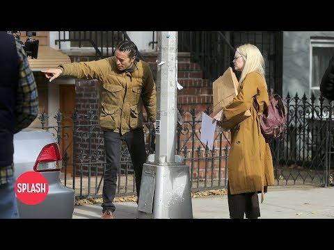 Emma Stone Films with Cary Fukunaga in Brooklyn, New York  Daily Celebrity   Splash TV