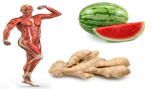 THE POWER of WATERMELON and Ginger for Health !! Best Healthy Food