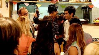 「裏都民」のイボがオーナーになる飲食店の開店パーティーが催され、久...