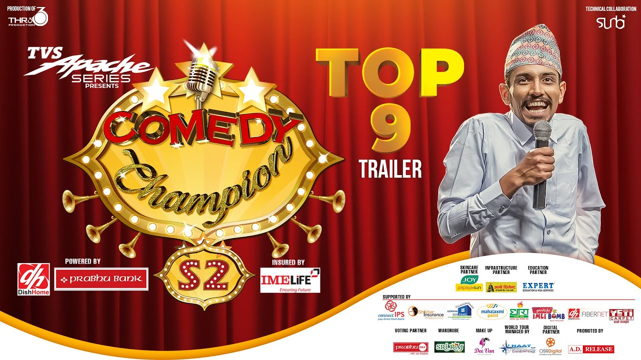 Top 9 Trailer - NEPALI TEACHER || COMEDY CHAMPION S2