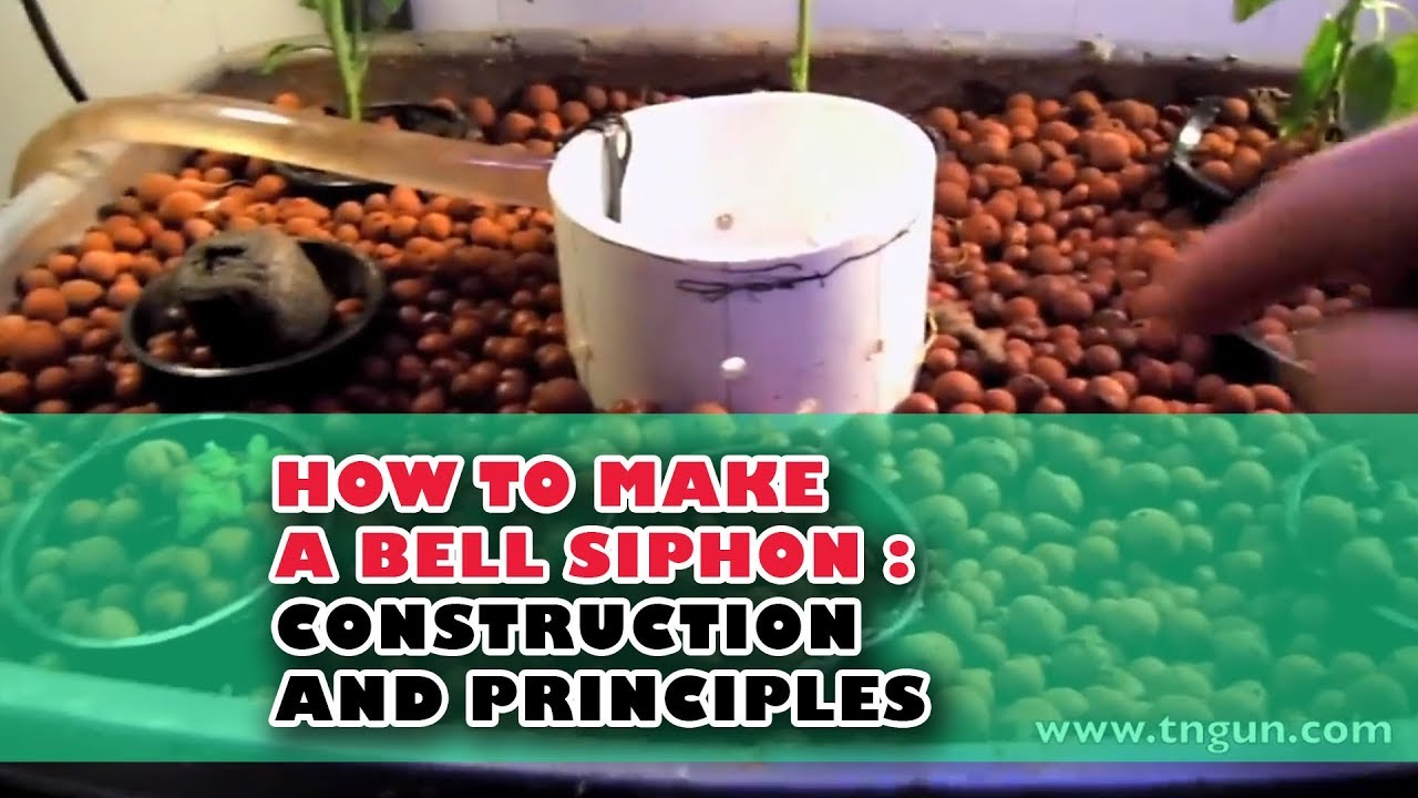 hight resolution of how to make a bell siphon construction and principles