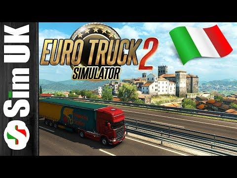 Italia DLC Part 2 (Fixed Graphics) | Bari - Napoli | Euro Truck Simulator 2 + Wheelcam