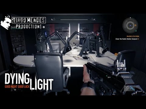 Clear and Loot the Radio Station Outpost from the Old Town Dying Light Gameplay Walkthrough