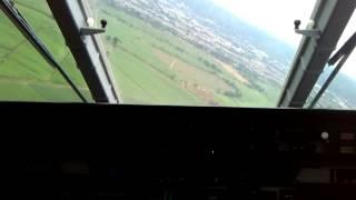 Aterrizaje Avión Caza 295 de la FAC