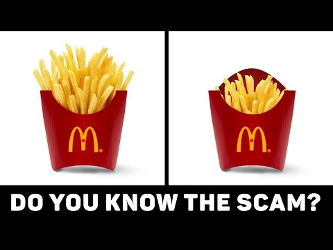Thumbnail: 10 SECRET Food Scams You Always Fall For!