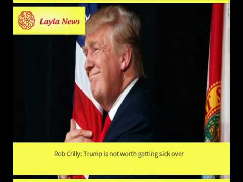 Rob Crilly: Trump is not worth getting sick over |  By : CNN