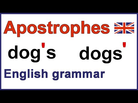 How to use apostrophes | Using apostrophes | English punctuation