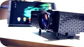 Extremely Cheap LED Projector - Full Review | 4K