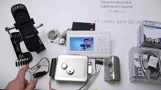 видео Видеодомофон Tantos LILU